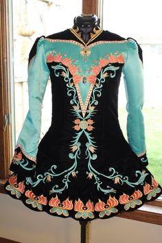 IDentify You Irish Dance Solo Dress Costume