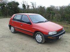 eBay: 1993 DAIHATSU CHARADE CXI. Kellys car.