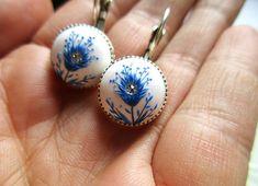 Indigo Blue Magical Peacock Feather Flower spring garden Gift