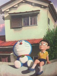 Doraemon and Nobita Watercolor Wallpaper Phone, Sinchan Wallpaper, Cartoon Wallpaper Hd, Wallpaper Iphone Disney, Wallpaper Quotes, Doremon Cartoon, Cartoon Characters, Fictional Characters, Doraemon Wallpapers