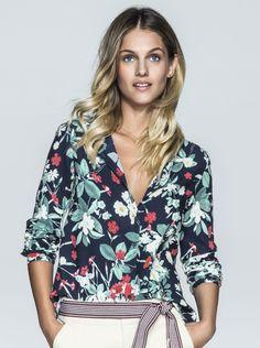 Camisa Feminina Em Viscose Estampada | Camisas | Feminino | Hering