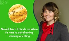 I rap with Grace Edison about when it's good to quit drinking (or smoking, or…