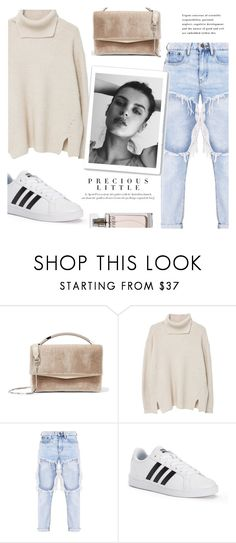 """""""Muse"""" by nadialesa ❤ liked on Polyvore featuring Eddie Borgo, MANGO, adidas, GE, Agent Provocateur and Calvin Klein"""