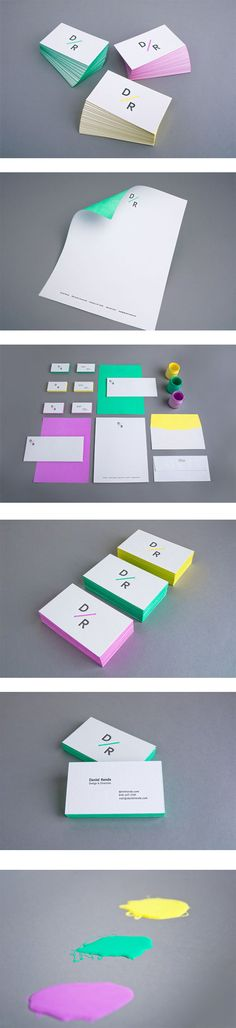 Brand Identity | Corporate Identity | Graphic Design | The colours are nice in this identity