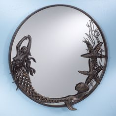 Mermaid Mirror - Stylish Home Accents and Décor - Graceful Clothing, Accessories & Jewelry