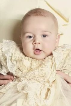 © Jason Bell The christening of Prince George.  A proper little Georgie Porgie. I can't remember the full verse so hope it's nothing horrid.