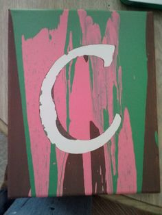 Unity Painting- with last name initial Unity Ceremony, Wedding Ceremony, Wedding Bells, Unity Painting, Gift Table Wedding, Diy Wedding Projects, Wedding Ideas, Wood Invitation, Wedding Flower Packages
