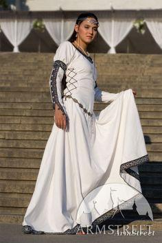 Tunique viking de lin ric l claireur vendre par for Dame blanche miroir minuit