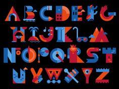 Alphabet on Behance