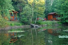 Our Upper Michigan Cabin Rentals are perfect for those seeking a great Upper Peninsula experience, but want the comfort of sleeping indoors. Our UP Cabin Rentals are near Curtis, MI. There is a two-night minimum on weekends and holidays between Memorial Day weekend and Labor Day.
