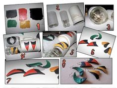 baking a curve into polymer clay...so many ways. #Polymer #Clay #Tutorials by silky
