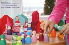 Make these little peg dolls