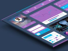 Minimal UI Kit is a collection of UI elements created with minimal colors and flat-design concept. The kit includes elements such as graphs, widgets, music Interface Design, User Interface, Ui Design, Free Design, Graphic Design, Design Concepts, Shop Plans, Iphone, Magazine Design