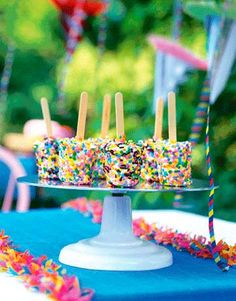 sprinkle ice pops