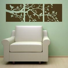 Simply apply this decal to your wall and immediately give your family room, living room, bedroom, bathroom, office, hallway, etc. a new...