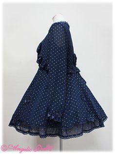きらめきドットシフォンボレロ&ジャンパースカートSet, Angelic Pretty