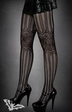 Goth:  Black Gothic Tights.