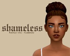 Sims 4 Cc Eyes, Sims 4 Mm, Sims 4 Tattoos, Teen Girl Hairstyles, The Sims 4 Skin, Sims 4 Cc Finds, Sims Mods, The Sims4, Sims 4 Custom Content