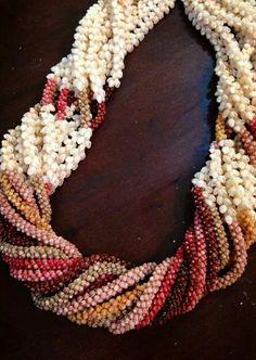Lei pūpū o Ni'ihau, Ni'ihau Shell Designs, posted to Facebook by Kuana Torres Kahele.
