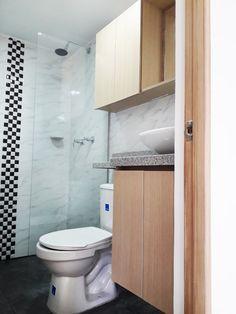 este baño es de nuestro proyecto villa del campo Toilet, Country, Blue Prints, Flush Toilet, Toilets, Toilet Room, Bathrooms