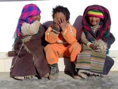 Enfants tibétains
