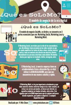 SoLoMo: El modelo de negocio de la era digital - infografía