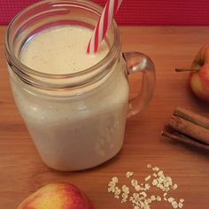 Apple cinnamon spiced smoothie #chistmas2015 #smoothie #cinnamon #spice #festive #recipe #yummy #yum #foodpic #foodpics #foodphotography #breakfast #instagood #instadaily #smile