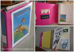 """Galloping the Globe notebook/lapbook.  Use 8 tab dividers, put info from each continent and its' countries behind each divider.  She links to Flag it world stickers and blank passports...put a sticker in passport after you """"leave"""" that country"""