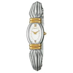 Seiko Bangle Style Two Tone Dress Watch SWA038 *** You can find out more details at the link of the image.