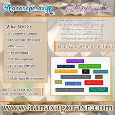 New and Attractive Website design services