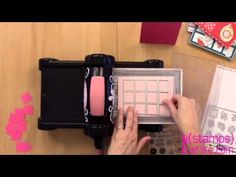 How to Make a Gate Fold Card using a Sizzix Stand-up Die by Stephanie Barnard - YouTube