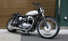 ϟ Hell Kustom ϟ: Kawasaki W400 By Boat Rap Motorcycles