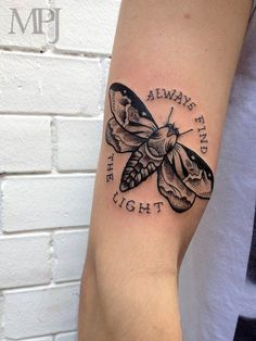Always find the light tattoo