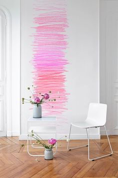 "Wallpaper ""Heavenly"" M House, 159 euros the sheeting 91 x H 280 cm."
