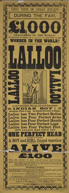 freak show- indian boy