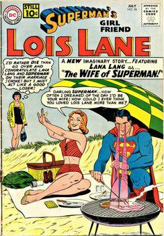 Superman Lana Lang and Lois Lane ❤️
