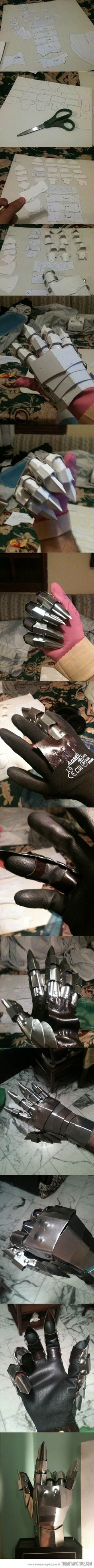 Making Sauron's hand…