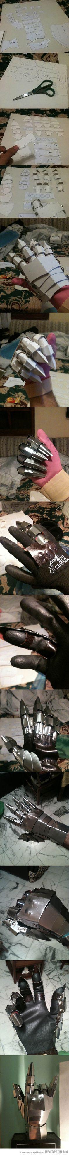 Making Sauron's hand…