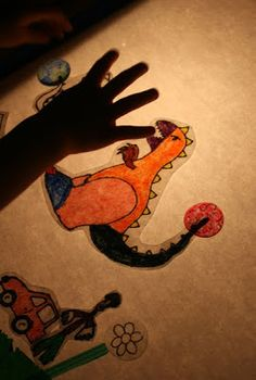 Filth Wizardry: Colour fun with our DIY lightbox