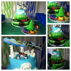 Kidz Transportation Cake!!