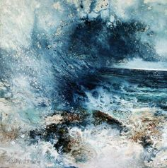 Stewart Edmonson 'Bright Storm' Acrylic on Paper 54 x 55 cm | http://www.beauxartsbath.co.uk/Edmondson%2010/images2014/Bright%20Storm%20(54%20x%2055cm).jpg
