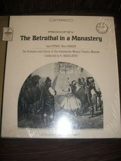 Prokofiev The Betrothal In A Monastery Ivan Petrov by AJRECORDS, $29.99