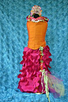 Mermaid costume,