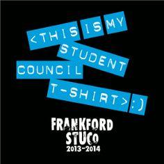 T Shirt Design Vintage Slogan Clas Student Council