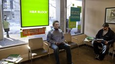 Man Waiting In H&R Block Lobby Nervously Eyeing How Much More Paperwork Everyone Else Brought
