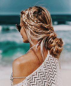 Cute Hairstyles For Teens, Cool Hairstyles, Hairstyles For Beach, Country Girl Hairstyles, Hairstyles For Greasy Hair, Pretty Hairstyles For School, Easy And Beautiful Hairstyles, Lazy Day Hairstyles, Bridal Hair