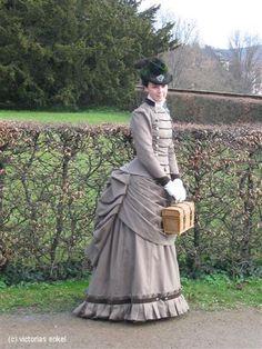 Second bustle era day dress by Victorias Enkel - Späte Tournüre Tageskleider