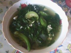Recetas de Cocina Salvadoreña: Receta de Sopa de Mora