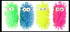 Short Light-Up Puffer Worm with Bulging Eyes - Sensory Fidget Toy - Au | Curious Minds Busy Bags Fidget Toys, Busy Bags, Sensory Toys, Worms, Kids Playing, Light Up, Bubbles