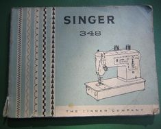 Instructions Manual for a Singer 348 Sewing Machine Sewing Tips, Sewing Hacks, Sewing Ideas, Sewing Machine Service, Sewing Machines, Sewing Online, Model Trains, Hair Clips, Manual